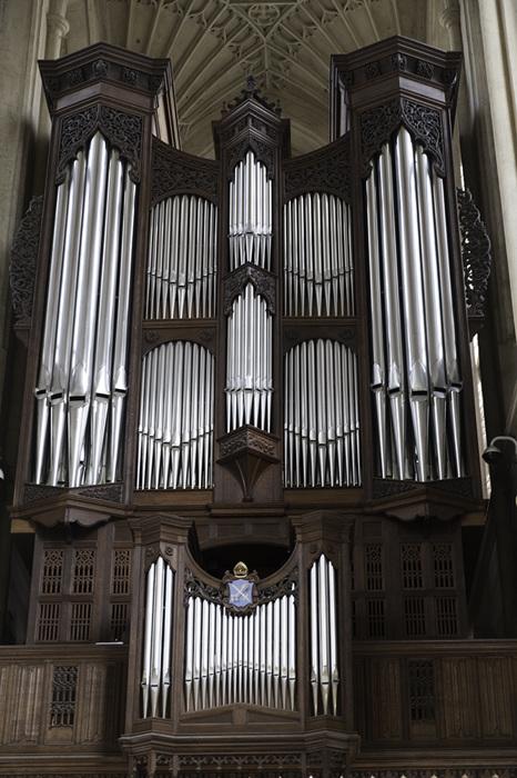 photoblog image Bath Abbey-organ