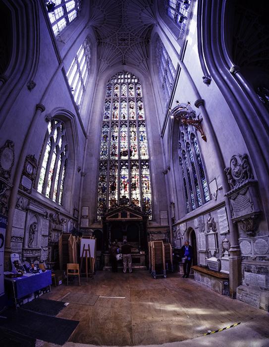 photoblog image Bath Abbey-side chapel