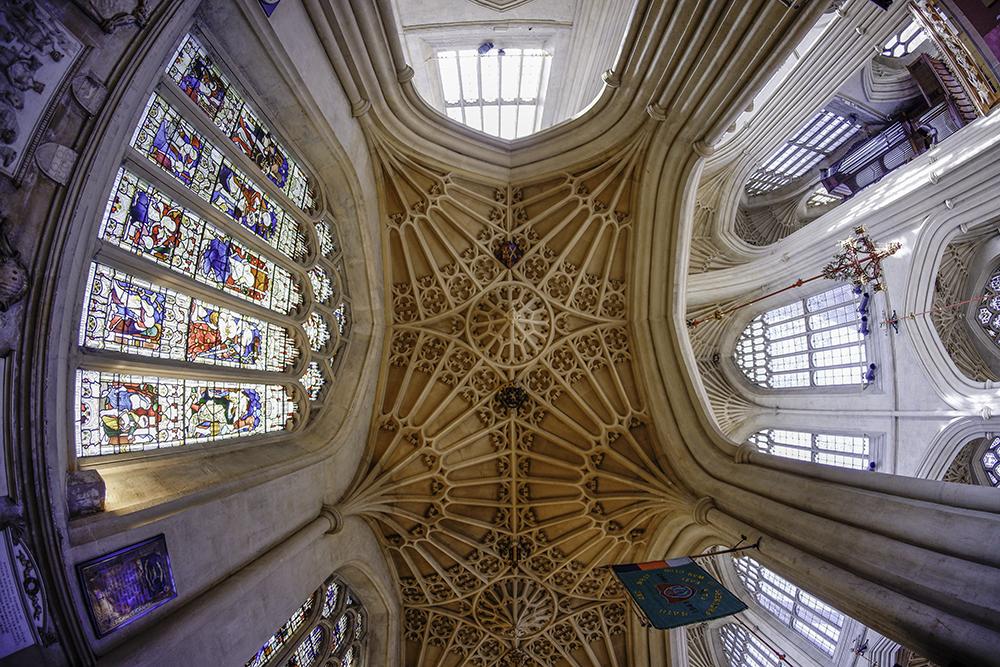 photoblog image Bath Abbey-fan vaulting