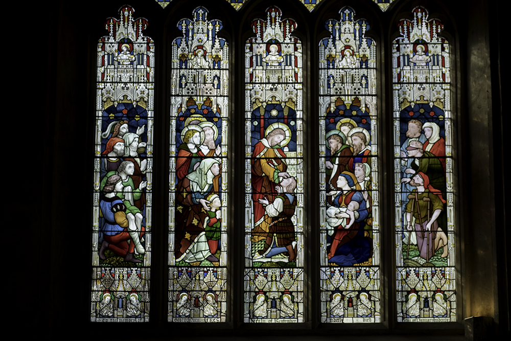 photoblog image Bath Abbey-George Norman window