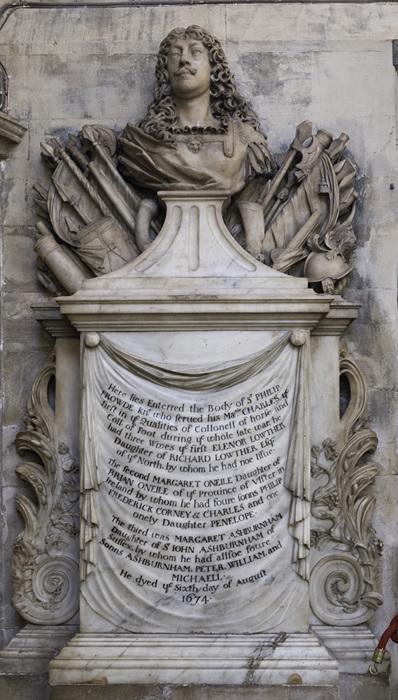 photoblog image Bath Abbey-Frowde memorial