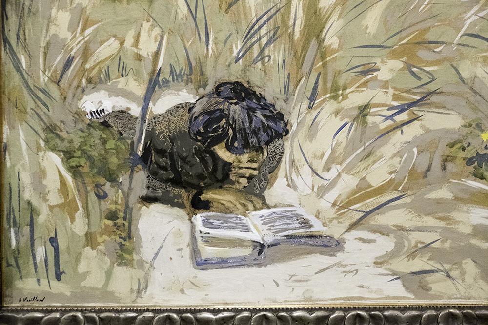 photoblog image Woman reading