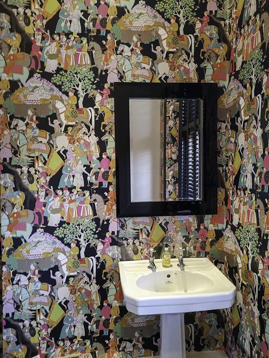 photoblog image Colourful gents' toilet