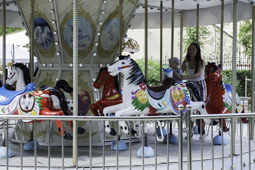 photoblog image Jolly horses