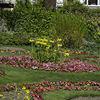 Victorian flower beds