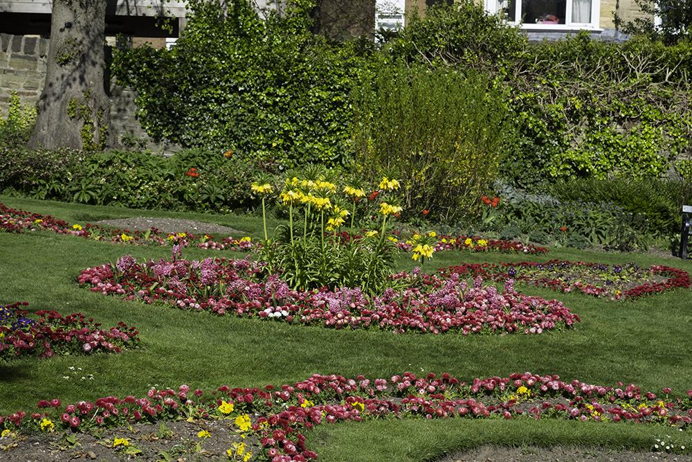 photoblog image Victorian flower beds