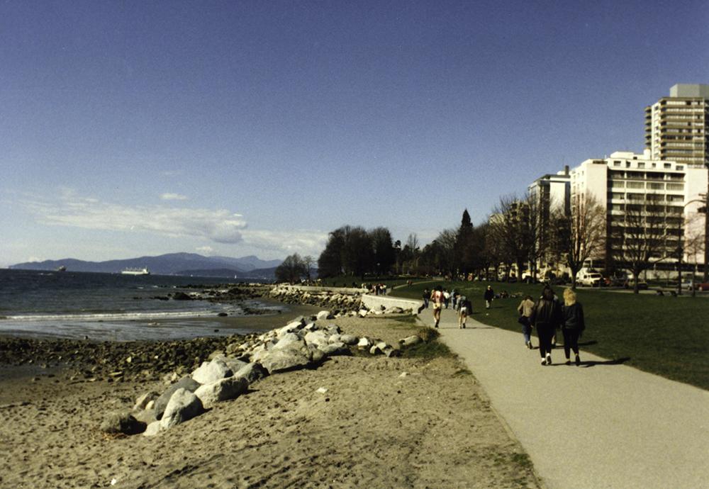 photoblog image Vancouver seaside