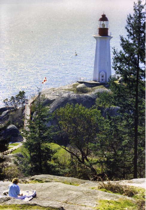 photoblog image Vancouver lighthouse