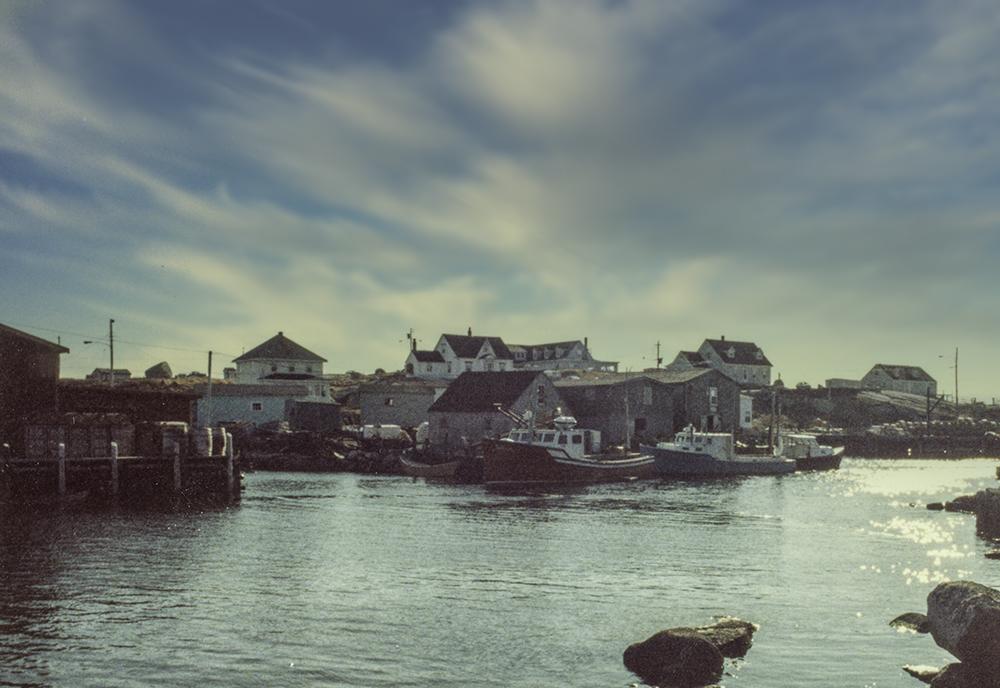 photoblog image Nova Scotia fishing village