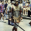 Siena - before the Palio - On his way to war.