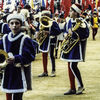 Siena - Before the palio - Band members
