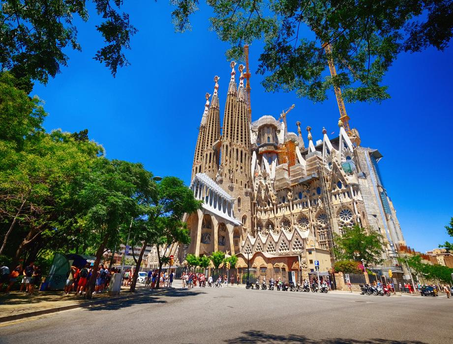 photoblog image La Sagrada Família in Barcelona, Spain