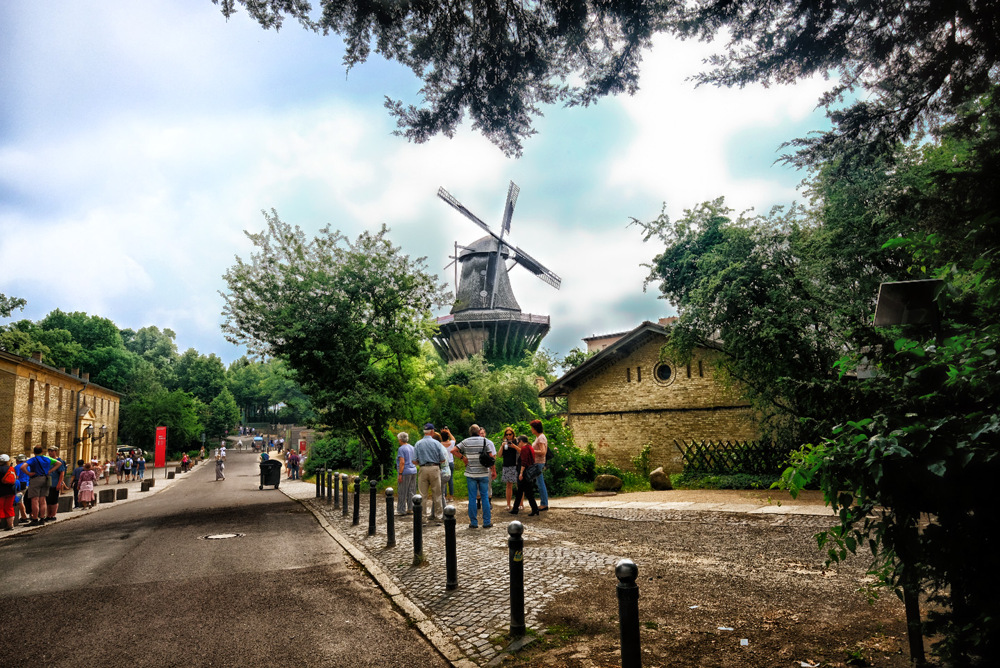 photoblog image Historic Mill of Sanssouci in Germany