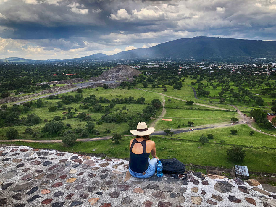 photoblog image Temple of the Sun in Teotihuacan, Mexico
