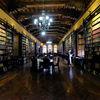 Santo Domingo Convent Library in Lima, Peru