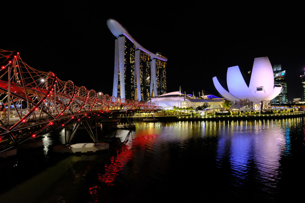 photoblog image Singapore at Night