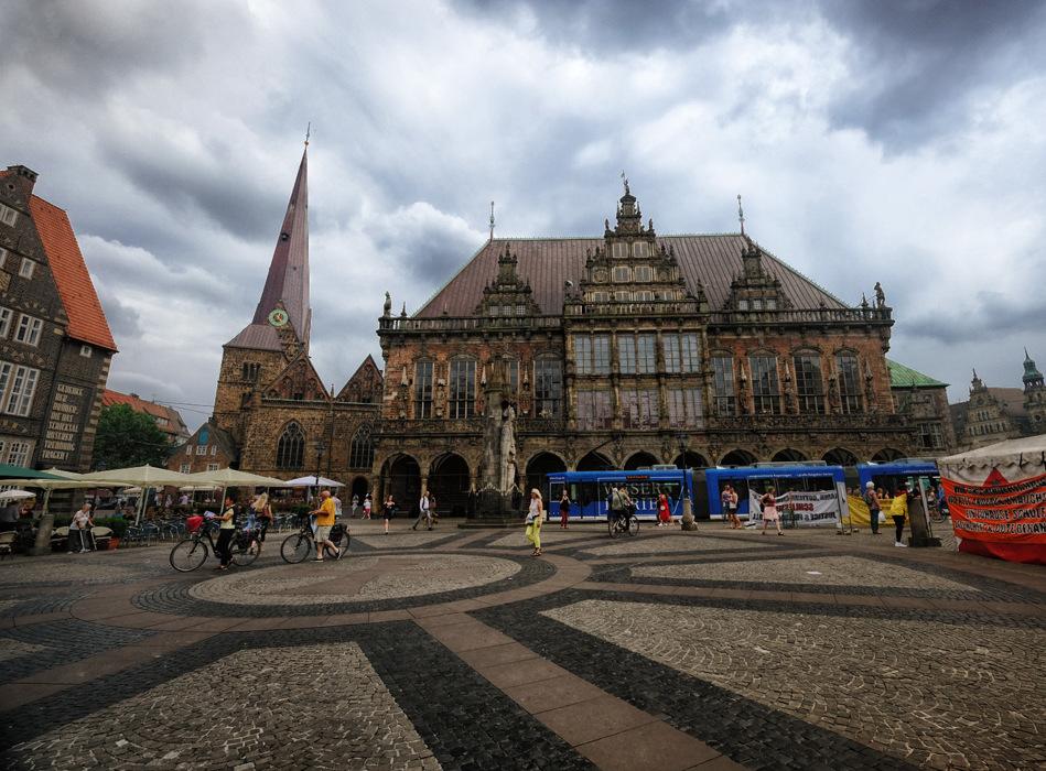 photoblog image Market Square in Bremen, Germany