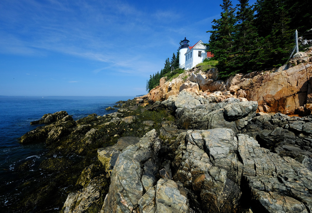 photoblog image Lighthouse at Bass Harbor in Maine