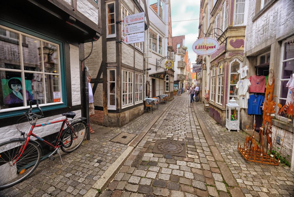 photoblog image Schnoor in Bremen, Germany