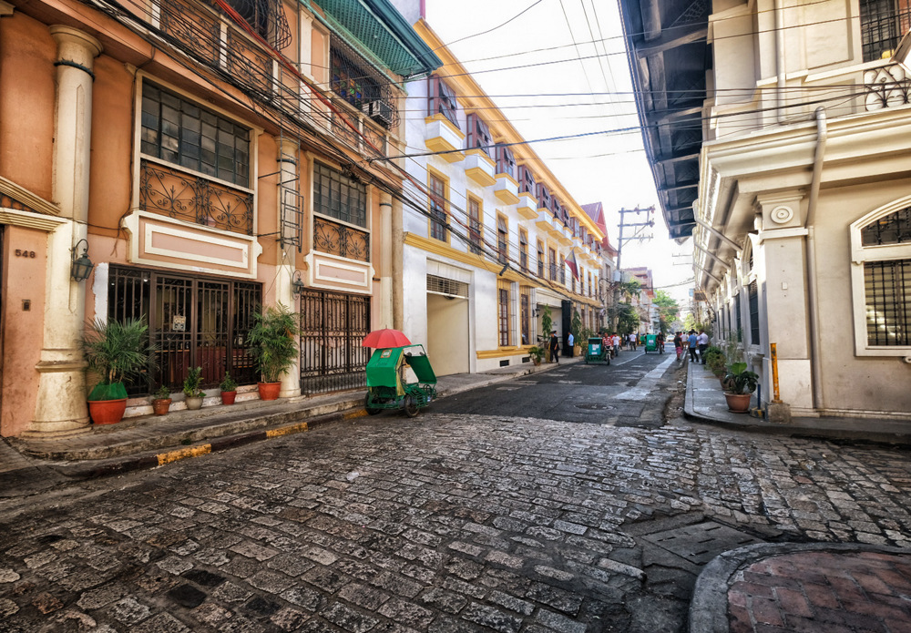 photoblog image Inside the Walled City in Manila, Philippines