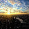 A London sunset from the Shard