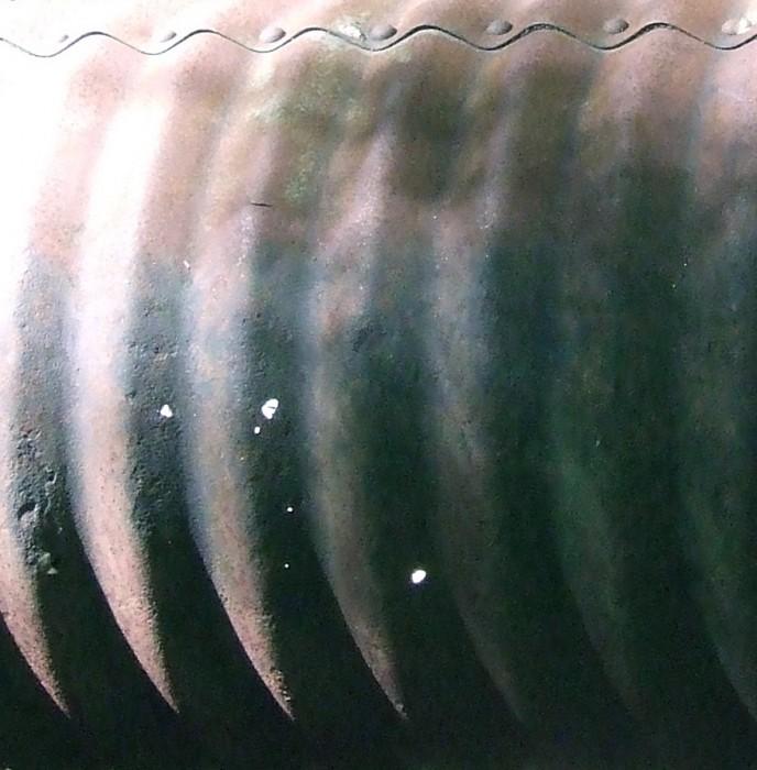 photoblog image corrugated pipe