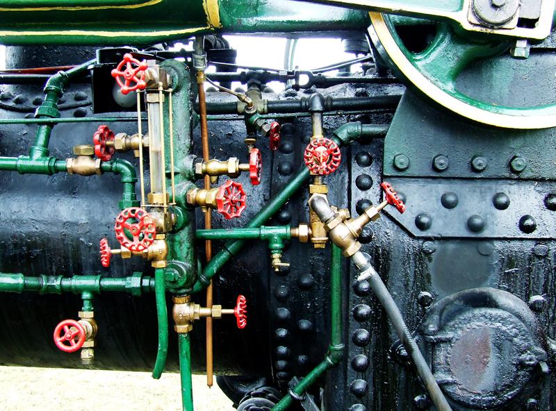 photoblog image steam engine