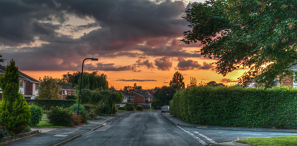 photoblog image Droitwich sunset