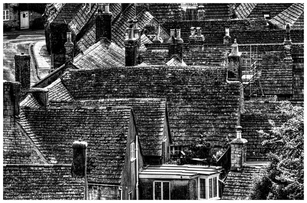 photoblog image Rooftops