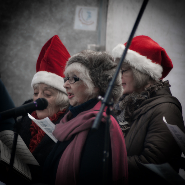photoblog image Carol singing