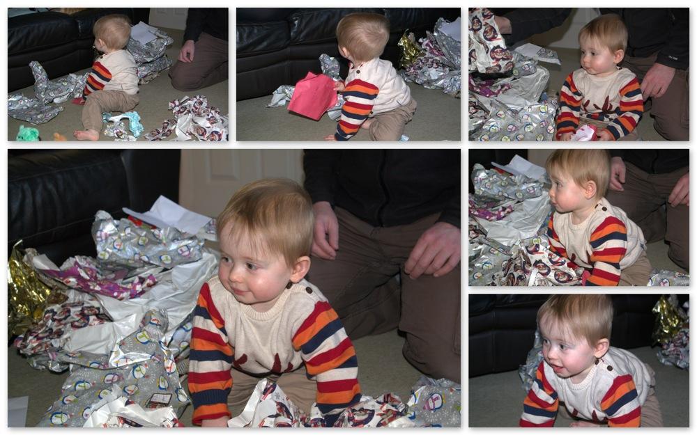 photoblog image Joseph on Christmas Day