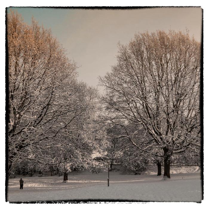 photoblog image Droitwich Snow 2