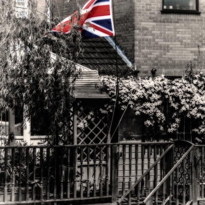 photoblog image Flag Waving.