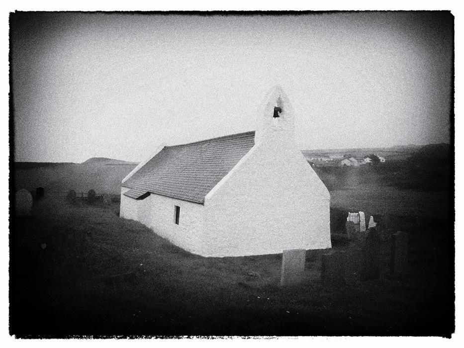photoblog image Holy Cross Church Mwnt
