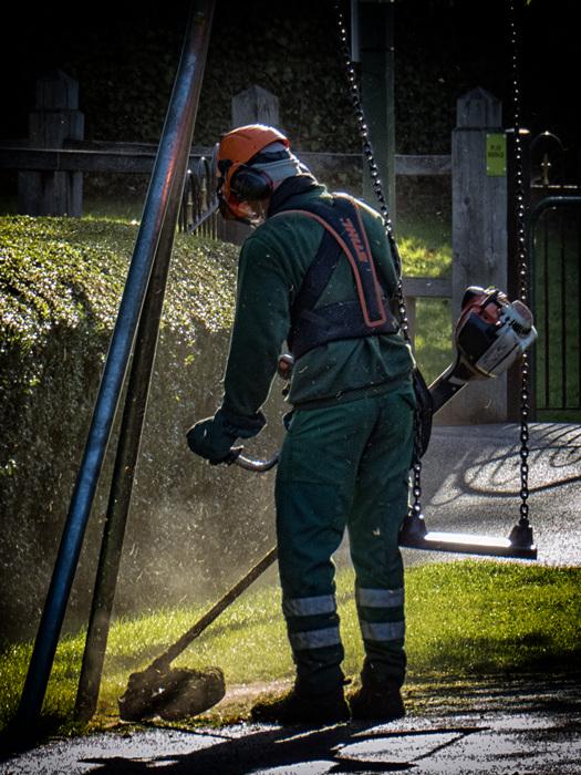 photoblog image Keeping in strim