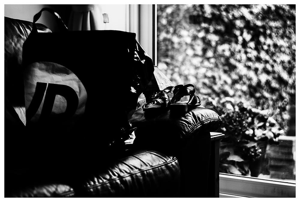 photoblog image Shoes and a bag