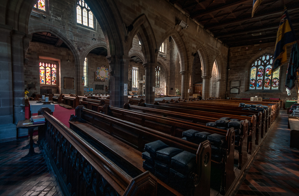 photoblog image St John the Baptist Church Bromsgrove 10 of ?