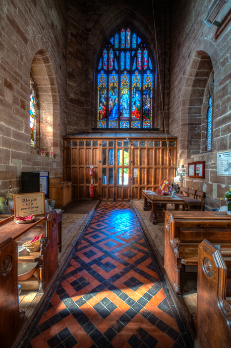 photoblog image St John the Baptist Church Bromsgrove 12 of 12