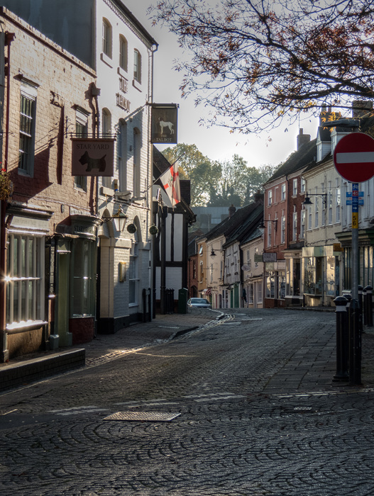 photoblog image Droitwich High Street