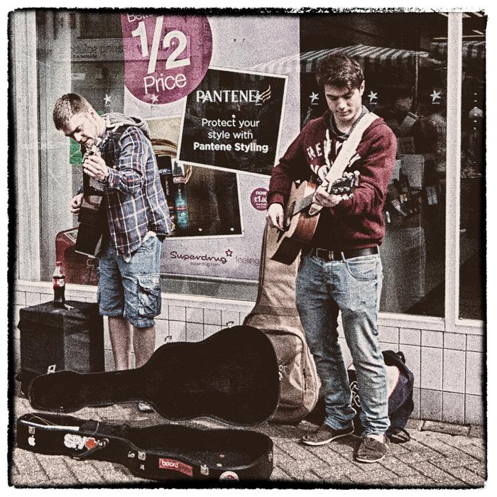 photoblog image Musicians