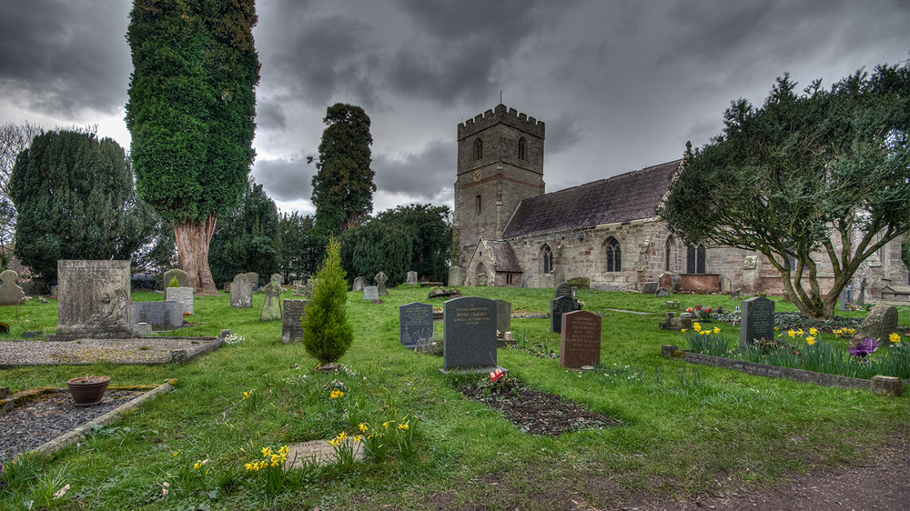photoblog image St Michael's Church Salwarpe near Droitwich