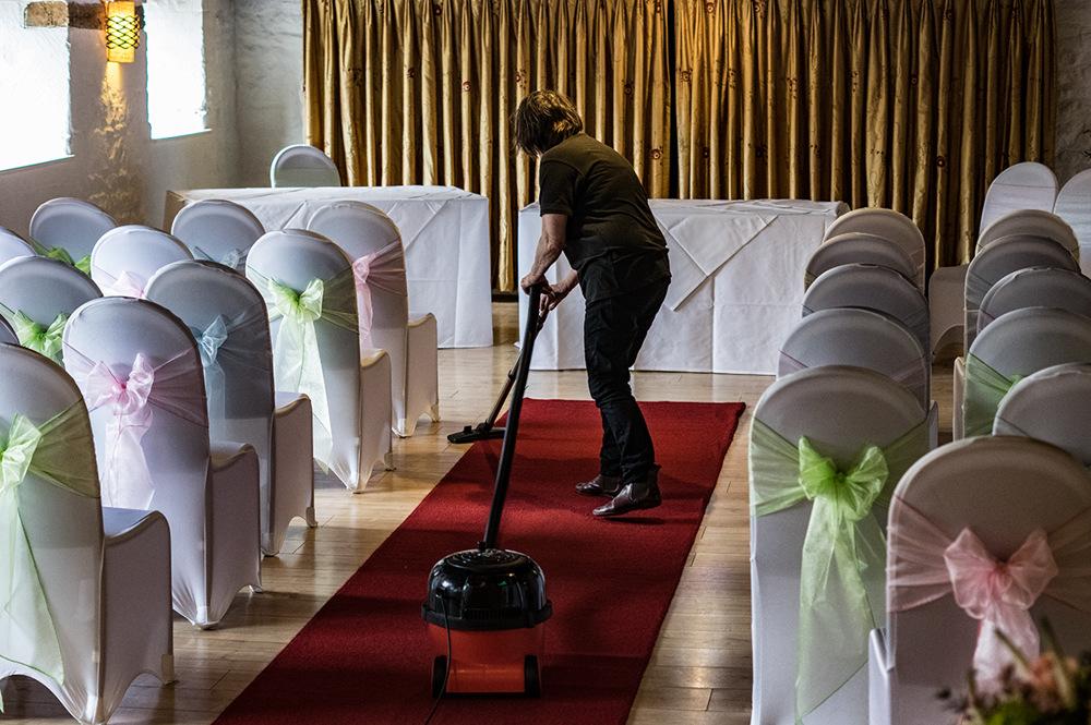 photoblog image The finishing touches