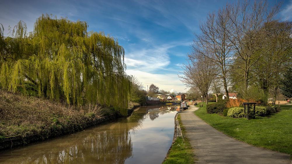 photoblog image Vines Park Droitwich Mid April