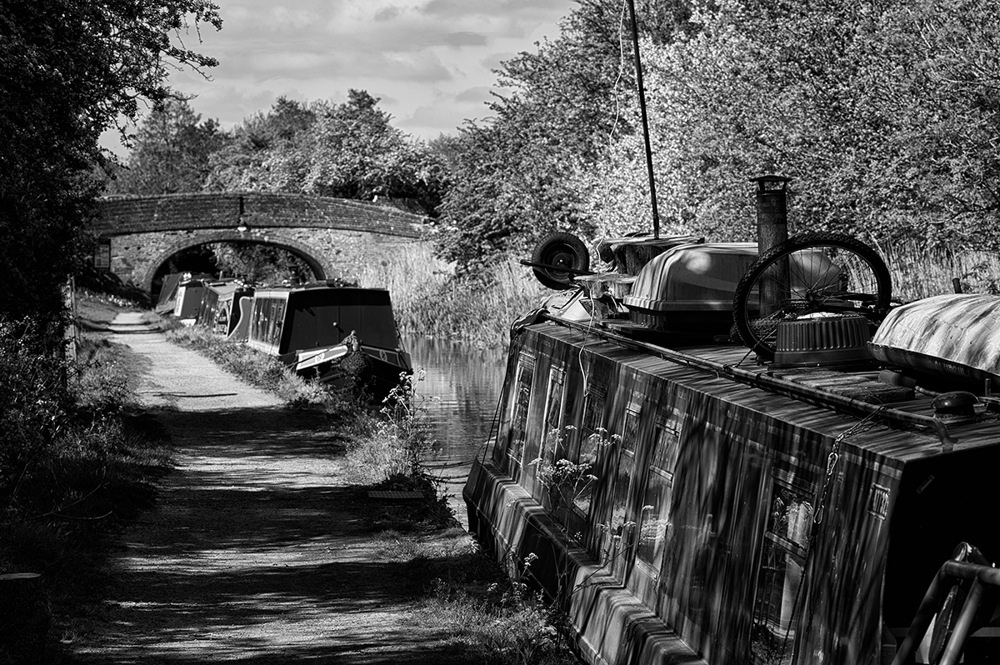 photoblog image The Droitwich canal at Tibberton 2