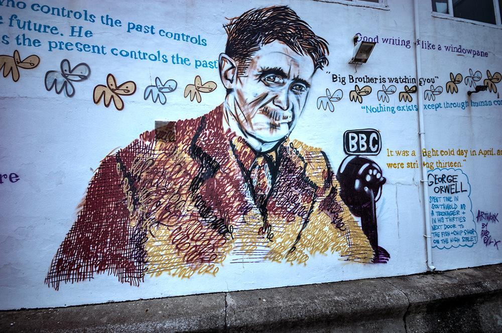 photoblog image George Orwell