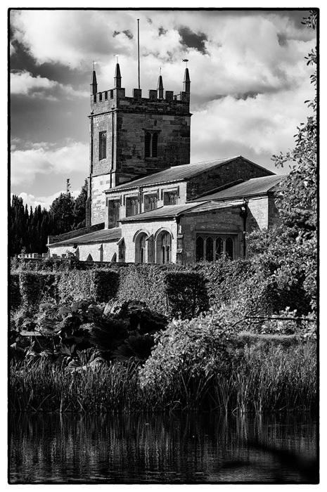photoblog image St Peter's church Coughton