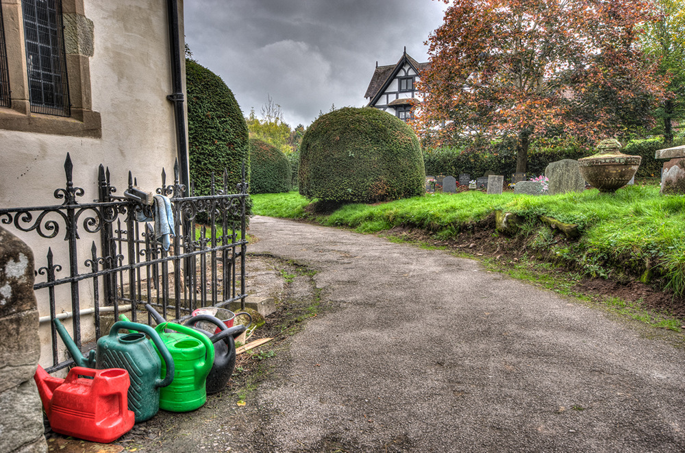photoblog image Watering Cans