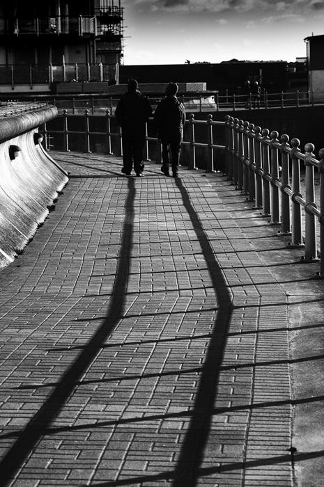 photoblog image Walk the line