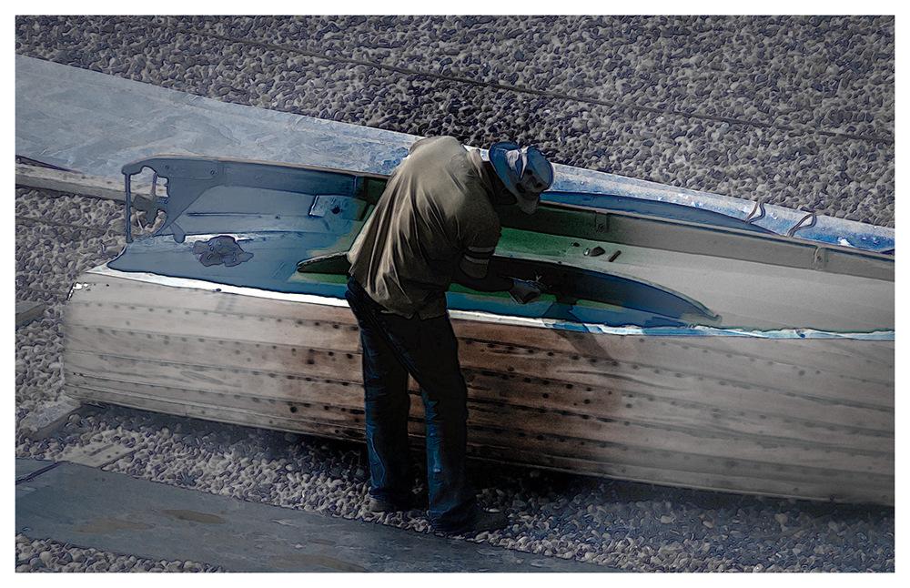 photoblog image Boat Painting