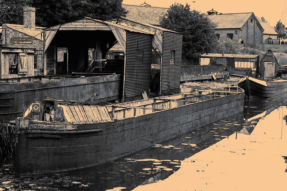 photoblog image Barge